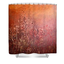 Garden Of The Sacred Fire Artbox Project 1 Basel Shower Curtain