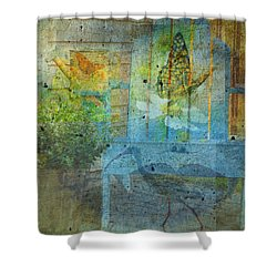 Garden Party  Shower Curtain by Mary Ward