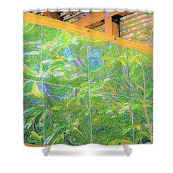 Garden Reflections Shower Curtain