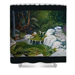 Garden Retreat Shower Curtain