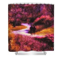 Garden Romance Shower Curtain