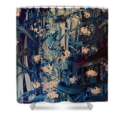 The Garden Story Shower Curtain