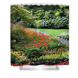 Garden Tapestry 4 Shower Curtain