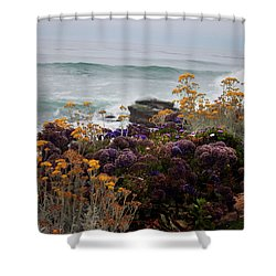 Shower Curtain featuring the photograph Garden View by Ivete Basso Photography