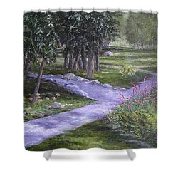 Garden Walk Shower Curtain