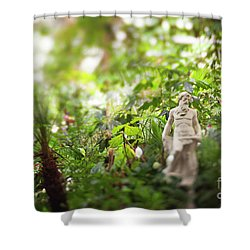 Garden Zeus Shower Curtain