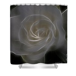 Gardenia Blossom Shower Curtain