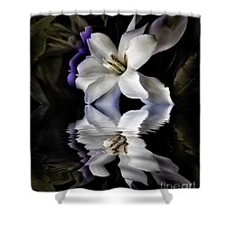 Gardenia Shower Curtain