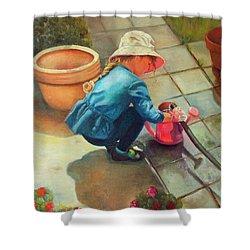 Gardening Shower Curtain