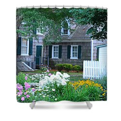 Gardens At The Burton-ingram House - Lewes Delaware Shower Curtain