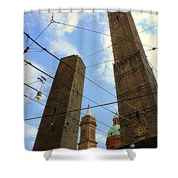 Garisenda And Asinelli Towers Shower Curtain