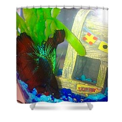 Gary Hanging Loose Shower Curtain