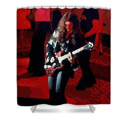 Shower Curtain featuring the photograph G R Winterland 1 by Ben Upham