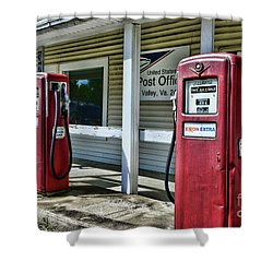 Gas And Mail 1 Shower Curtain by Paul Ward