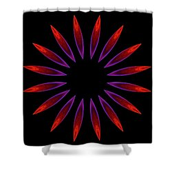 Gas Jets Shower Curtain