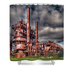 Gas Works Park - Seattle Shower Curtain