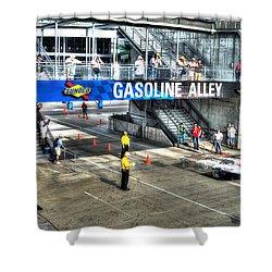Gasoline Alley 2015 Shower Curtain by Josh Williams