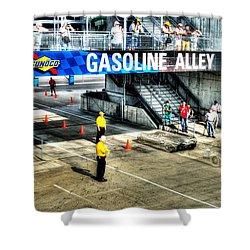 Gasoline Alley Shower Curtain