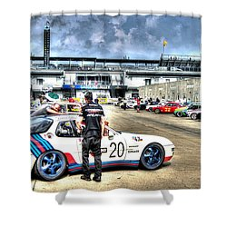 Gasoline Alley Svra Shower Curtain