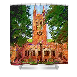 Gasson Hall  Shower Curtain