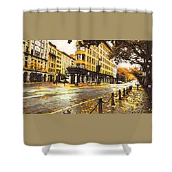 Gastown Shower Curtain