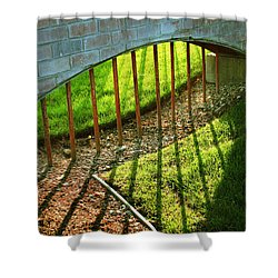 Gate-redemption Shower Curtain