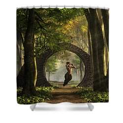 Gate To Pan's Garden Shower Curtain