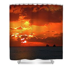 Gate To The Americas Shower Curtain
