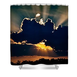 Gate To The Golden City Shower Curtain by Christopher Holmes