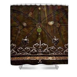 Gate To The Holy Spirit Chapel Shower Curtain