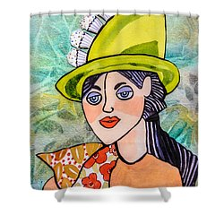 Gateau Chapeau Shower Curtain