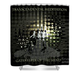 Gatekeeper Of The Mind Shower Curtain