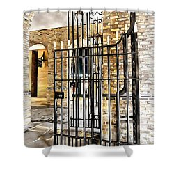 Gates At Hay's Galleria London Shower Curtain