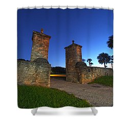 Gates Of The City Shower Curtain