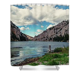 Gates Of The Mountains Shower Curtain