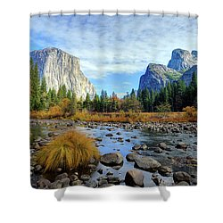 Gates Of The Valley Shower Curtain