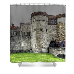 Gates To The Tower Of London Shower Curtain