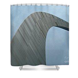 Gateway Arch Shower Curtain