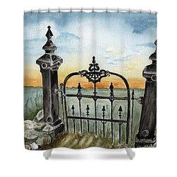 Gateway Shower Curtain