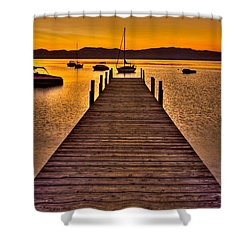 Gateway Shower Curtain by Scott Mahon