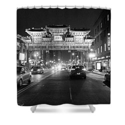 Gateway To Chinatown Shower Curtain