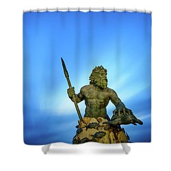 Gateway To The Sea Shower Curtain