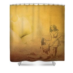 Gather Ye Rosebuds Shower Curtain by Wallaroo Images