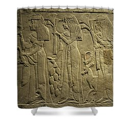 Gathering For A Feast Shower Curtain