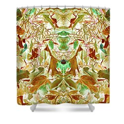 Gathering Of Mind Shower Curtain
