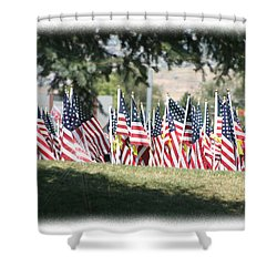 Gathering Of The Guard - 2009 Shower Curtain