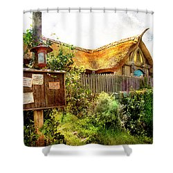 Gathering Place Shower Curtain