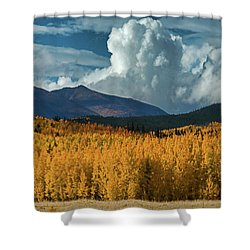Gathering Storm - Park County Co Shower Curtain