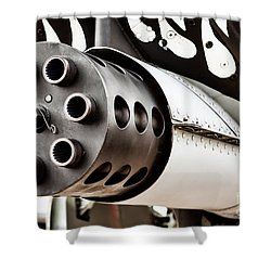 Gatling Shower Curtain
