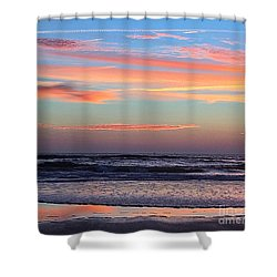 Gator Sunrise 10.31.15 Shower Curtain
